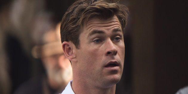 El vídeo que 'se ríe' del dolor de Chris Hemsworth cuando se hace un
