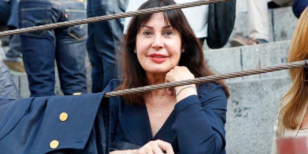 Carmen Martínez-Bordiú Franco, durante la Feria de San Isidro