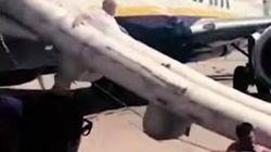 El estrepitoso desalojo de los pasajeros de un vuelo de RyanAir en