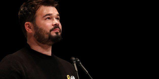 La contundente reflexión de Gabriel Rufián tras la detención de un miembro de 'La