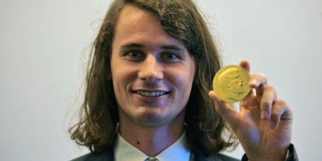 El matemático alemán Peter Scholze, uno de los cuatro ganadores de la Medalla