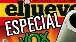 La portada de 'El Jueves' que más pánico provoca por lo que muestra de Santiago Abascal: