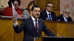Moreno defiende la legitimidad de Vox y le pide que dé estabilidad al