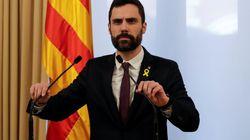 Torrent llevará la defensa de la investidura de Puigdemont al Tribunal de