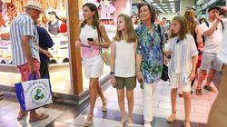 La aplaudida reflexión de Iñaki López sobre esta foto de Sofía, Letizia y sus hijas en el