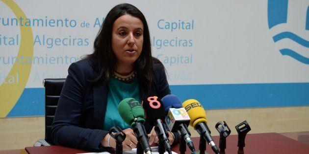 Laura Ruiz, en una imagen de la web del consistorio