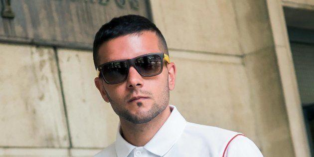 Ángel Boza, miembro de 'La Manada' detenido, acusó a uno de los vigilantes de golpear su