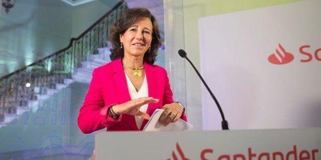 La presidenta del Banco Santander, Ana