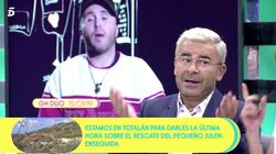 Monumental cabreo de Jorge Javier en 'Sálvame' (Telecinco) tras las acusaciones más