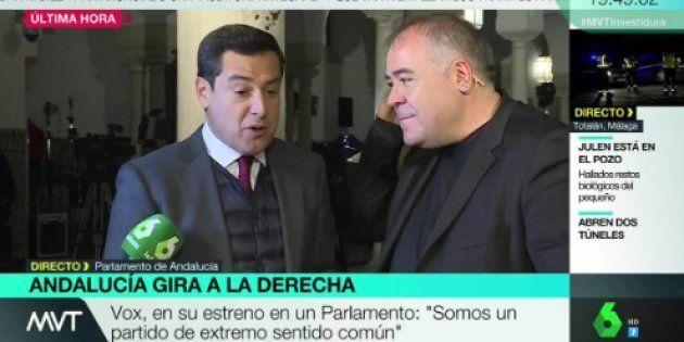 Moreno Bonilla y Ferreras en directo en 'Más Vale