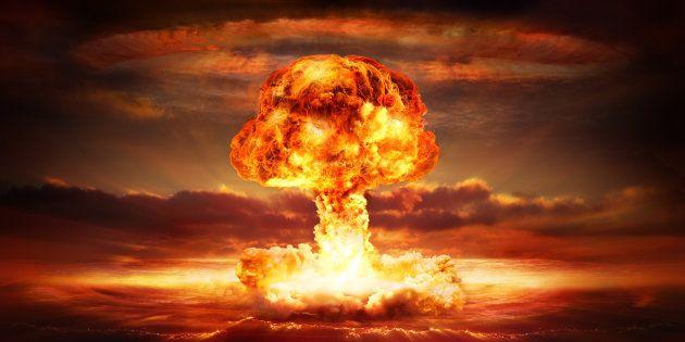 Recreación de una explosión