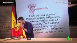 Archivada la causa contra Dani Mateo por sonarse los mocos con la bandera de