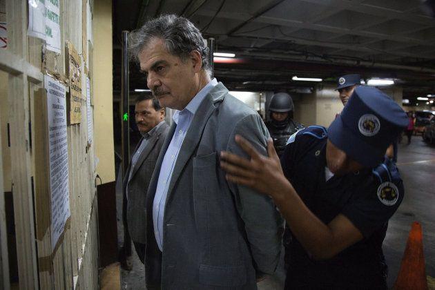 Juan Alberto Fuentes, detenido en