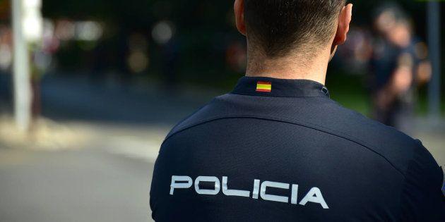 Un agente de Policía, en una imagen de