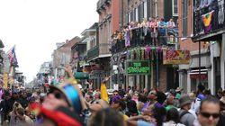 Dos tiroteos en el Mardi Gras de Nueva Orleans dejan tres heridos, uno de ellos