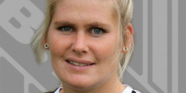 La entrenadora de fútbol Imke