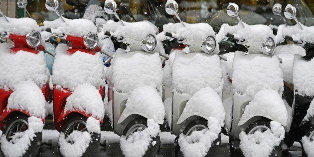 Llegan las nevadas en cotas