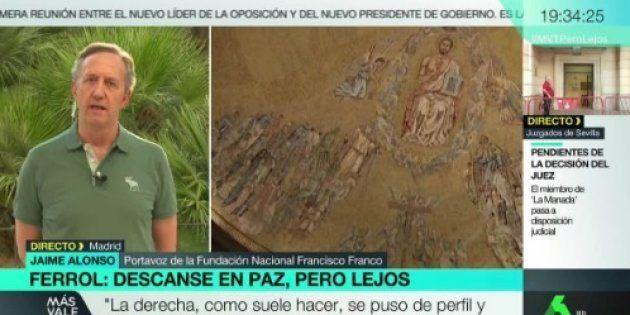 El feo comentario del portavoz de la Fundación Franco a Hilario Pino en 'Más vale