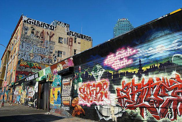Un juez indemniza a varios grafiteros de Nueva York cuyas obras han sido