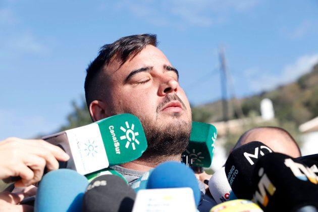 José Roselló, el padre de Julen, en una comparecencia ante los medios de