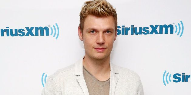 Nick Carter, cantante de los Backstreet