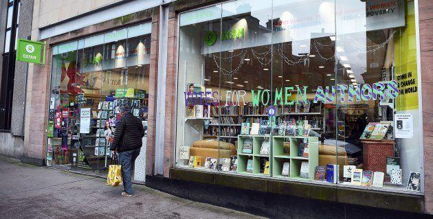 Una tienda de Oxfam en