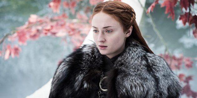 Sansa Stark durante 'Juego de