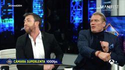 El puñetazo de Dolph Lundgren a Pablo Motos en 'El