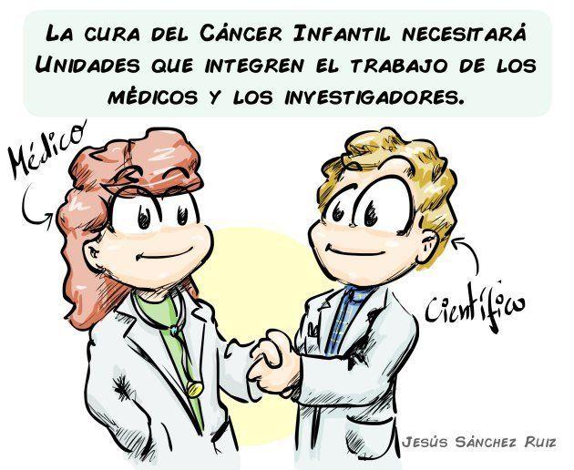 El cáncer infantil: rompiendo el
