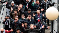 Así han llegado los ultras del PSG al Santiago