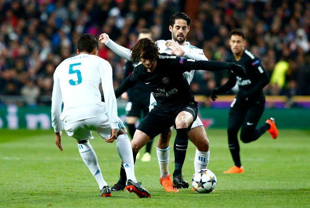 Rabiot, autor del único gol del PSG ante el Real