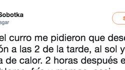 Por 6 euros la hora: La denuncia de un trabajador al que obligaron a trabajar a pleno sol durante la ola de