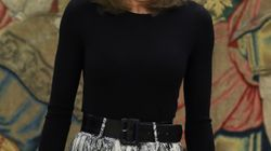 Letizia arrasa con su último estreno: una falda de 13 euros de