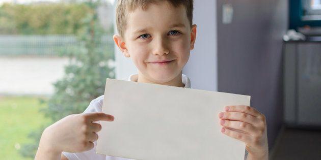 Esta carta de amor de un niño de cuatro años a su compañera te sacará una
