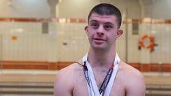El nadador con Síndrome de Down Carlos Hernández gana cinco medallas de oro en