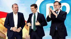 Casado y Rajoy abren juntos la Convención del