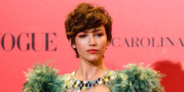 Úrsula Corberó en la fiesta del 30º aniversario de Vogue, el pasado 12 de