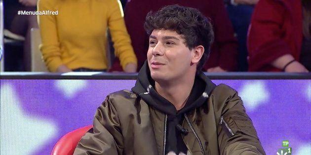 Alfred García en 'Menuda