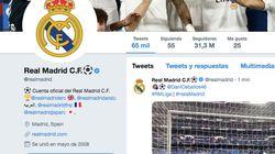 Críticas al Real Madrid por lo que ha hecho en Twitter antes del partido contra el