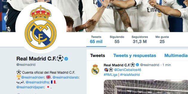Cuenta oficial del Real Madrid en