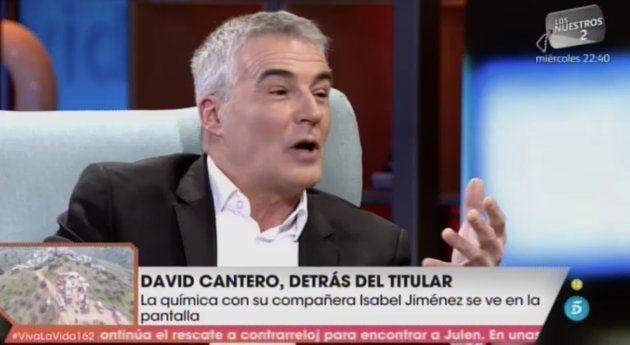 David Cantero en 'Viva La Vida'