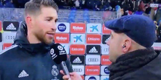 Sergio Ramos en 'BeIN