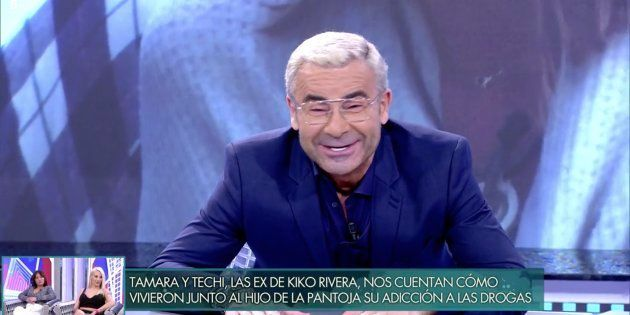 Jorge Javier Vázquez se parte de risa en 'Sábado