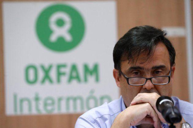 El secretario general Oxfam Intermón, José María