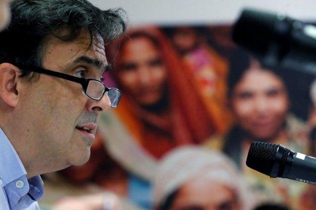El secretario general de Oxfam Intermón, José María