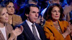 Los 30 segundos de aplausos a Rajoy que han dejado a Aznar con esta