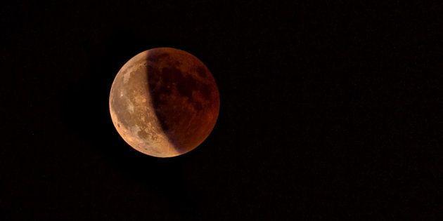 Eclipse total lunar de julio de 2018 desde