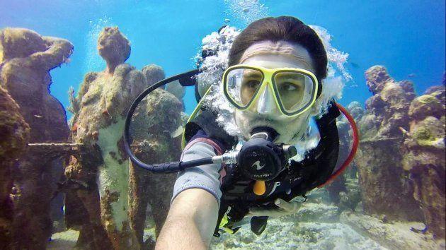 Buceando en el Museo Subacuático de