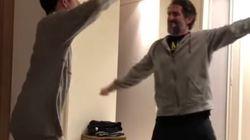 El baile de un padre con su hijo autista ha emocionado a 10 millones de