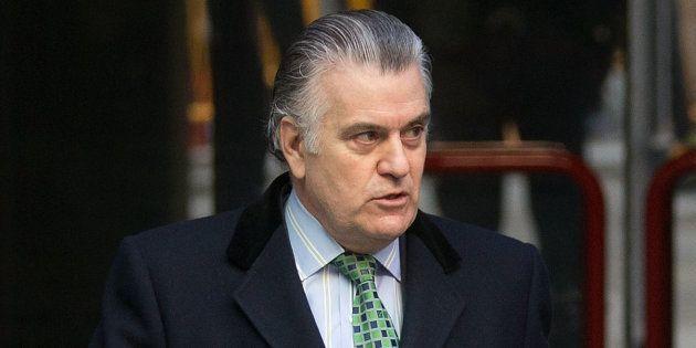 Luis Bárcenas, en una de sus comparecencias en la Audiencia